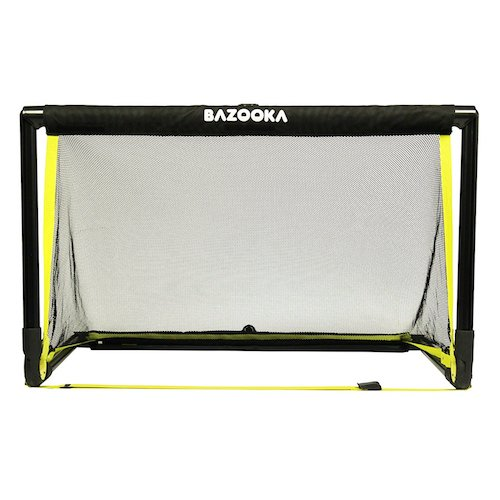 10. Bazooka Goal Solid Frame Pop Up Goal - 4 foot by 2.5-foot Goal