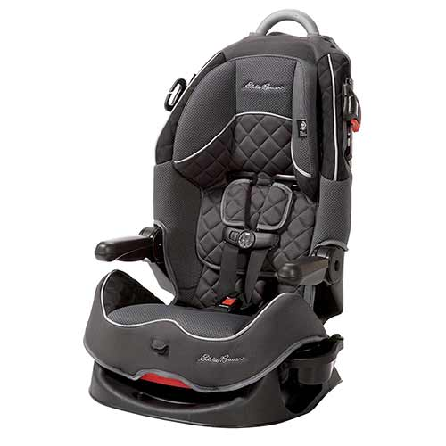 6. Deluxe High Back Booster Seat - Glencoe-Eddie Bauer