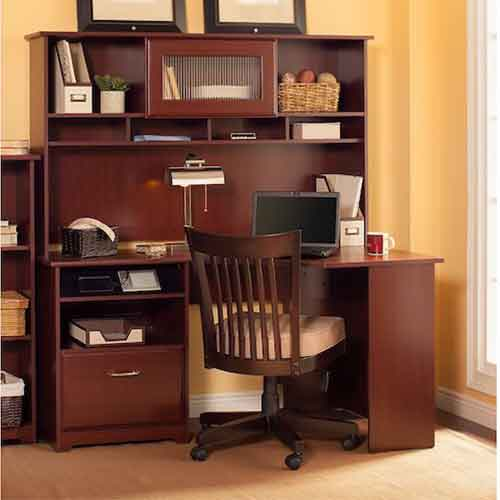 8. Cabot Corner Desk with Hutch