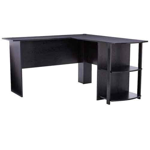 1. Ameriwood Home Dakota L-Shaped Desk
