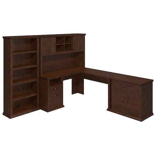 7. Yorktown L Shaped Desk