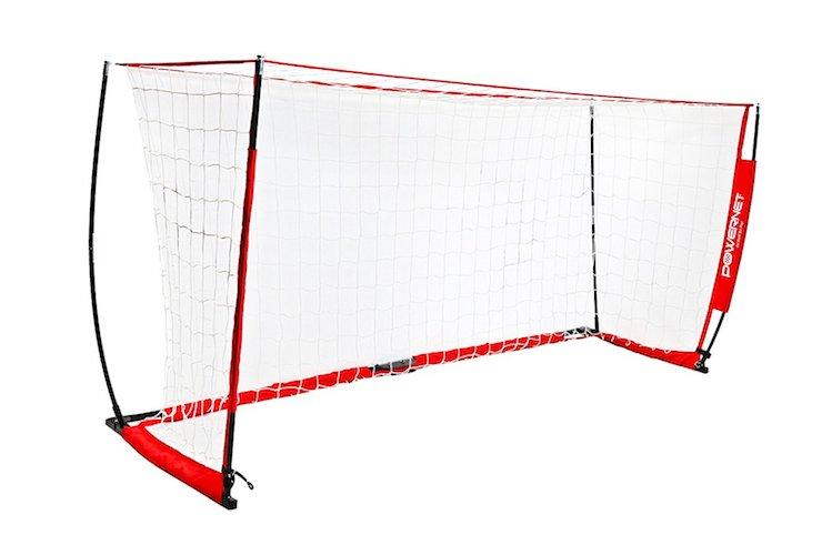 6. PowerNet Soccer Goal 12x6 Portable Bow Style Net