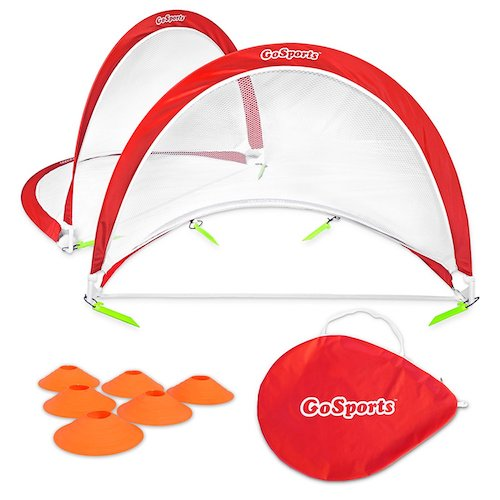 3. GoSports Portable Pop-Up Soccer Goals