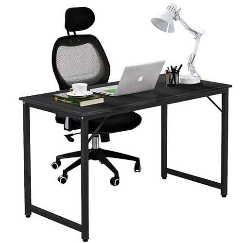 6. Dland L-Shaped Computer Desk