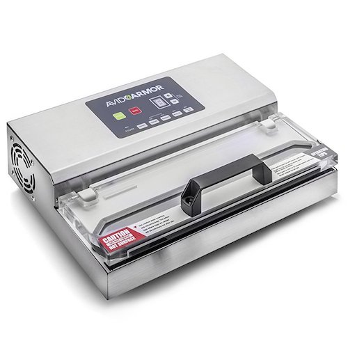 10. Avid Armor Vacuum Sealer System A100 Stainless Construction, Clear View Lid, Commercial Double Piston Pump Heavy Duty 12