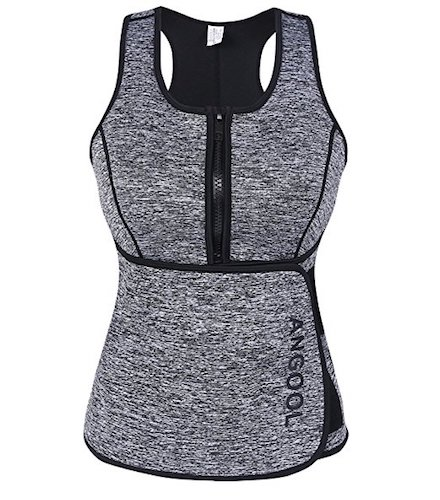 2. ANGOOL Women Sauna Sweat Vest