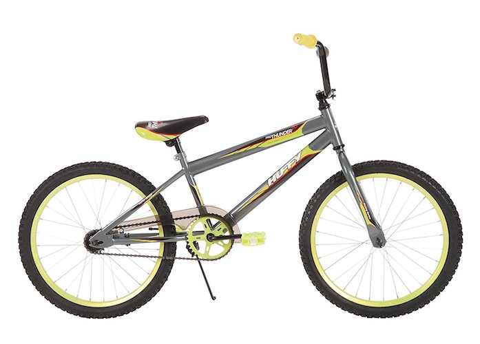 2. 20-inch Huffy Pro Thunder Boys' Bike, Gray