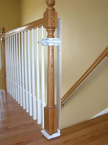 2. No Hole Stairway Baby Gate Mounting Kit