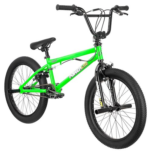 5. Powerlite Brawler 20-Inch Freestyle Bicycle, Neon Green