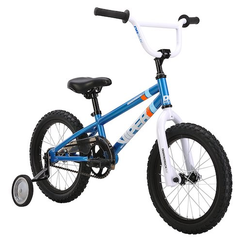 Best 16 Inch Bikes with Training Wheels 10. Diamondback Bicycles Mini Viper Kid's BMX Bike (16-Inch Wheels)