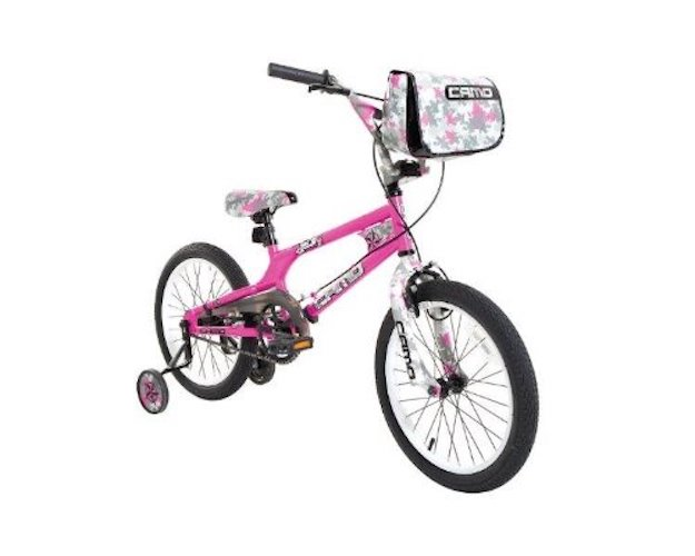 8. Dynacraft 8093-36TJ Decoy Girls Camo Bike