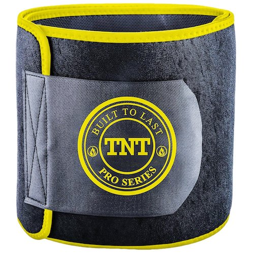 3. TNT Pro Series Waist Trimmer Weight Loss Ab Belt - Premium Stomach Fat Burner Wrap and Waist Trainer