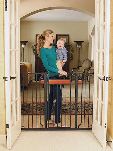 4. Regalo Home Accents Extra Tall Walk Thru Gate