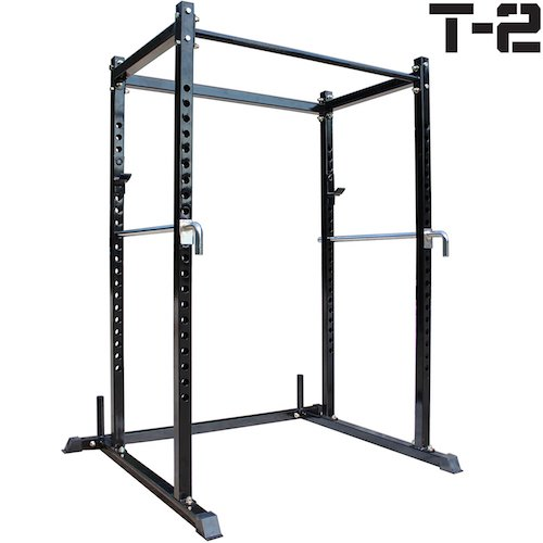Top 10 Best Fitness Power Racks Under $500: 8. Titan T-2 Series Short Power Rack Squat Deadlift Cage Bench cross fit pull up