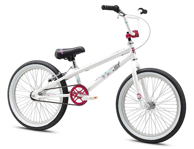 1. Mongoose Girl's LSX Bicycle, 20-Inch