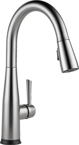 1. Delta 9113T-AR-DST Essa Single-Handle Pull-Down Touch Kitchen Faucet