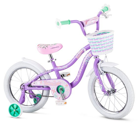 Best 16 Inch Bikes with Training Wheels 3. Schwinn Girl's Jasmine Bicycle