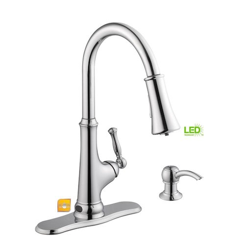 Top 10 Best Touchless Kitchen Faucets in 2021 Reviews