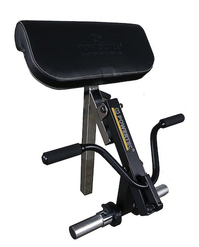 10. Powertec Fitness Workbench Curl Machine Accessory Black