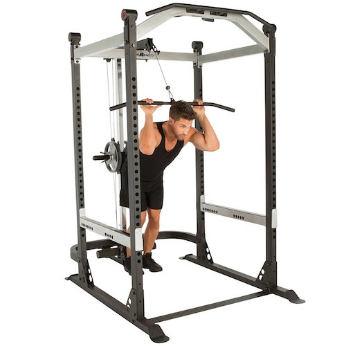 2. IRONMAN Fitness Reality X-Class Light Commercial High Capacity Olympic Power Cage