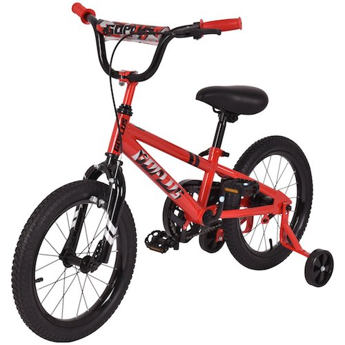 Best 16 Inch Bikes with Training Wheels 8. Goplus 16 inch Kids Bike Bicycle, Boy's Bike and Girl's Bike w/ Training Wheels, Toddler Ride, Gifts for Children