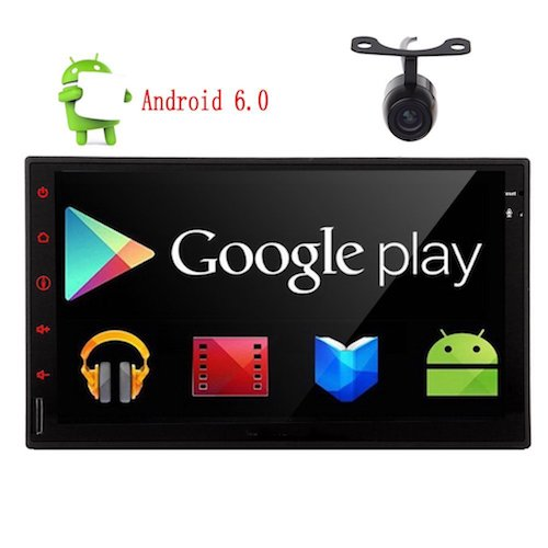 Top 10 Best Double Din Android Car Stereos: 2. Eincar New Developed 7