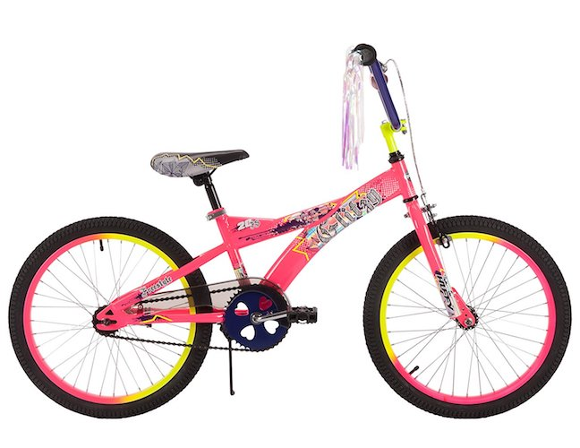5. 20 Huffy Glitzy Girls' Bike, Pink