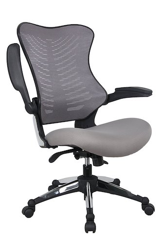 Top 10 Best Ergonomic Office Chairs Under $200 10. Office Factor Gray Office Chair , Ergonomic, Lumbar Support, Adjustable Executive & Task Chair For Office/Conference Room. Thick Seat & Raisable Arm Rest Mesh Back Office Chair – 250 Lbs Rated