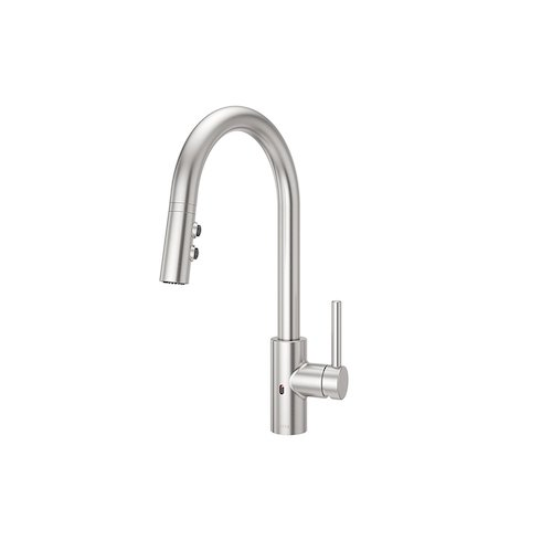 8. Pfister LG529ESAS Stellen React Touch-Free 1-Handle Electronic Pull-Down Kitchen Faucet
