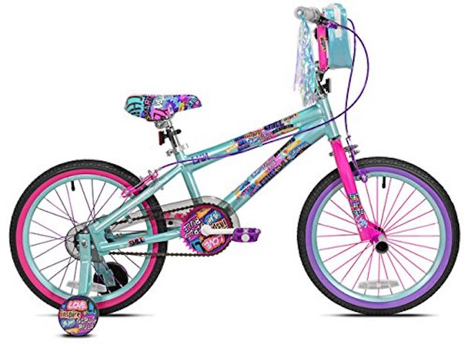 6. Avigo Little Miss Matched Smile Bike