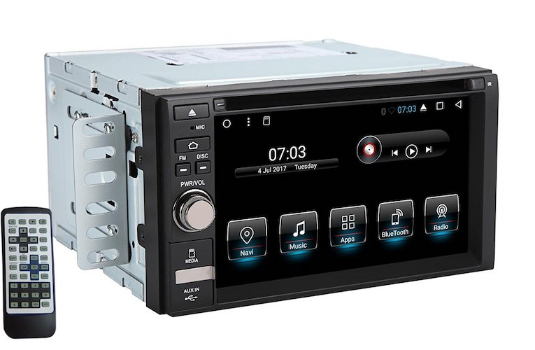 Top 10 Best Double Din Android Car Stereos: 9. Henhaoro Android car stereo Head Unit 6.2