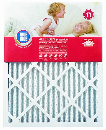 6. True Blue Allergen 12x36x1 Air Filter, MERV