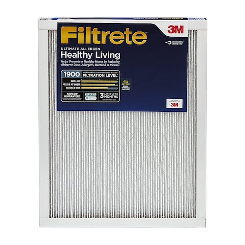 2. Filtrete MPR 1900 14 x 30 x 1 Healthy Living Ultimate Allergen Reduction HVAC Air Filter