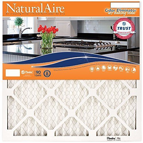 10. Flanders PrecisionAire 84857.011418 NaturalAire Odor Eliminator Air Filter