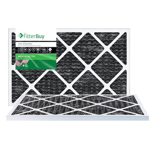 5. FilterBuy Allergen Odor Eliminator 14x30x1 MERV 8 Pleated AC Furnace Air Filter