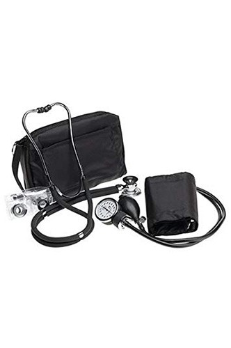 Best Stethoscopes for Blood Pressure 4. Prestige Sphygmomanometer & Stethoscope Kit with Matching Black Carrying Case