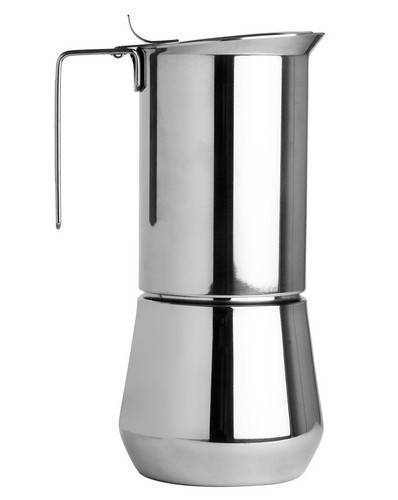 Best Stove Top Espresso Makers 9. Ilsa Stainless Steel 3 Cup Stovetop Espresso Maker