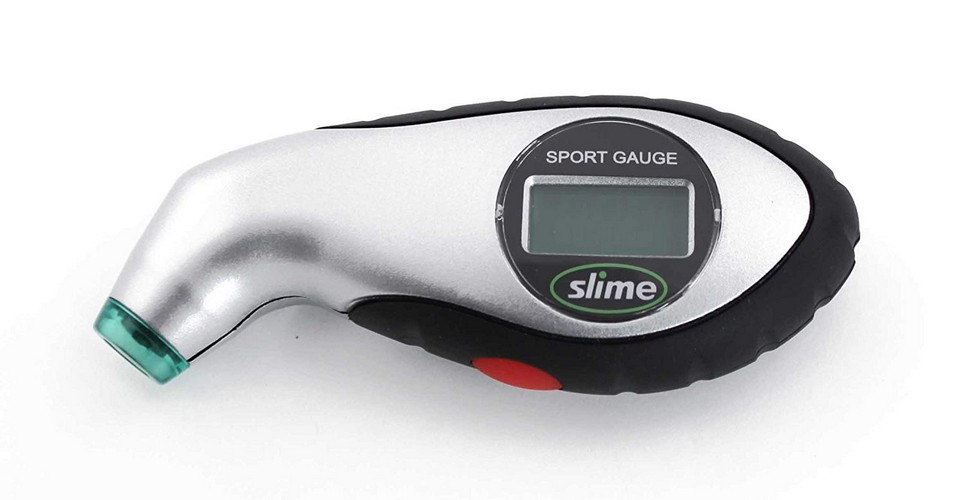 Best Digital Tire Pressure Gauges 3. Slime 20017 Digital Tire Gauge with Lighted Tip, 5-150 PSI