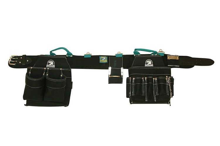 9. Gatorback Professional Electrician's Tool Belt Combo w/ Padded Comfort Belt (Medium 31-34 Inch Waist). Ventilated Comfort Belt with Heavy Duty Pouches for Electricians, Carpenters, HVAC, Drywaller.