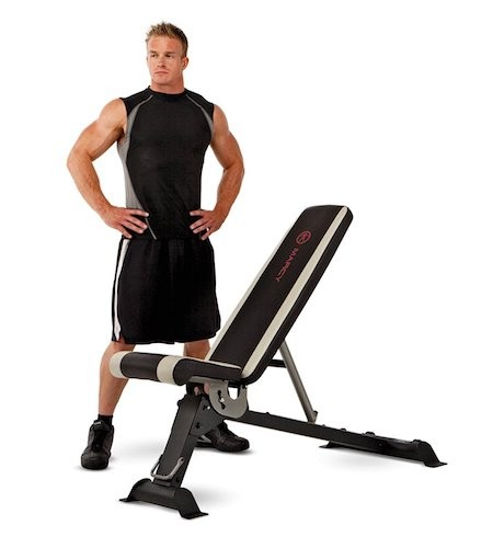 BEST WEIGHT BENCHES FOR HOME 2. Marcy Adjustable Utility Bench for Home Gym Workout SB-670