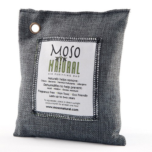 Best Natural Air Fresheners 3. Moso Natural Air Purifying Bag. Odor Eliminator for Cars, Closets, Bathrooms and Pet Areas. Captures and Eliminates Odors. Charcoal Color, 200-G