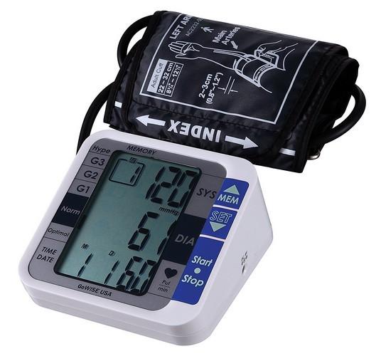 Best Upper Arm Blood Pressure Monitors 3. GoWISE USA Digital Upper Arm Blood Pressure Monitor