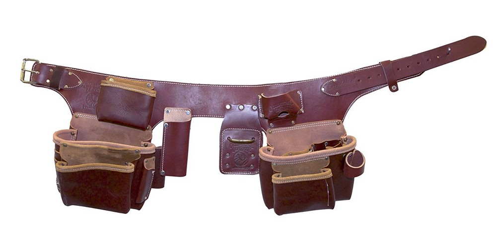 6. Occidental Leather 5191 XL Pro Carpenter's 5 Bag Tool Belt Assembly, X-Large