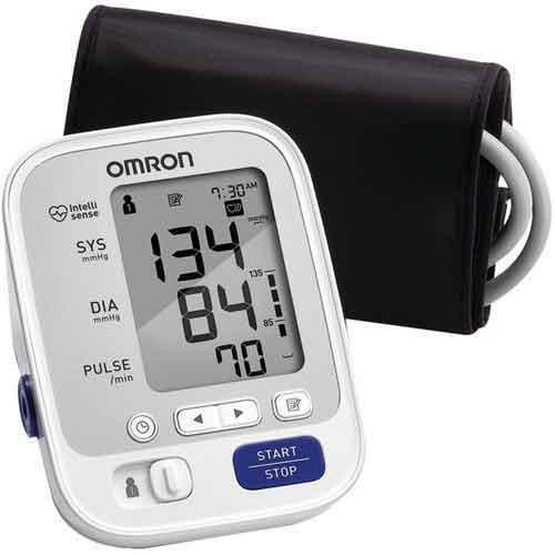 Best Upper Arm Blood Pressure Monitors 1. Omron 5 Series Upper Arm Blood Pressure Monitor