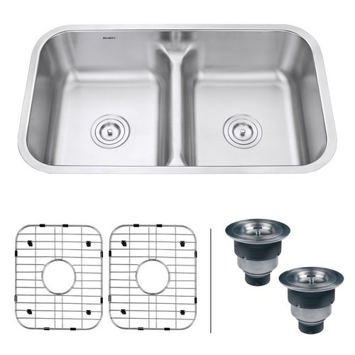 BEST UNDERMOUNT KITCHEN SINKS 3. Ruvati RVM4350 Undermount 32