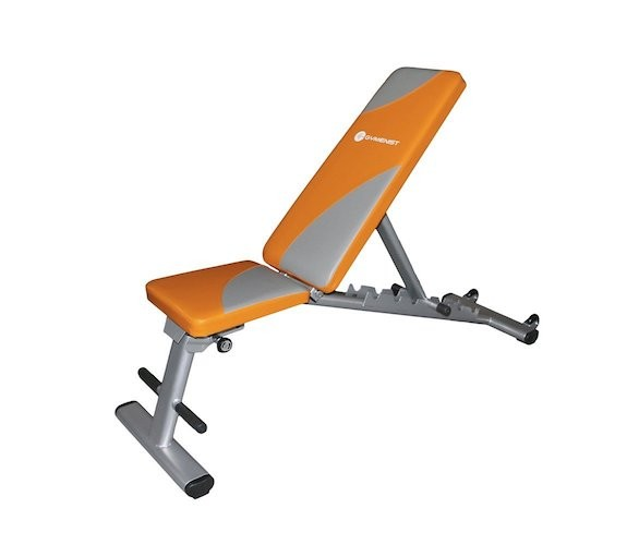 BEST WEIGHT BENCHES FOR HOME 8. Gymenist Exercise Bench Foldable Can Be Used 7 Different Angles Positions, Can Be Folded Flat For Storage
