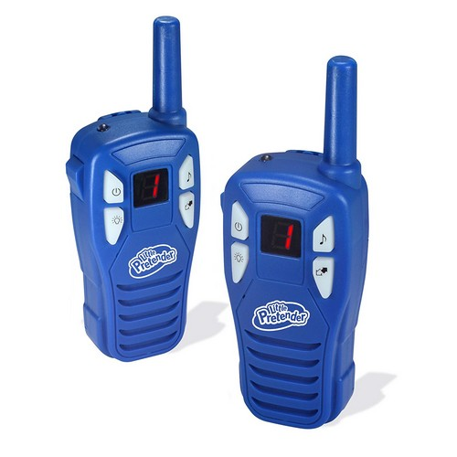 BEST WALKIE TALKIES FOR KIDS 3. Little Pretender Walkie Talkies for Kids, 2 Mile Range, 3 Channels, Built-in Flash Light