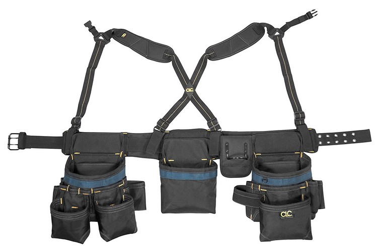 4. CLC Custom Leathercraft 2617 28-Pocket Framing Master Tool Belt