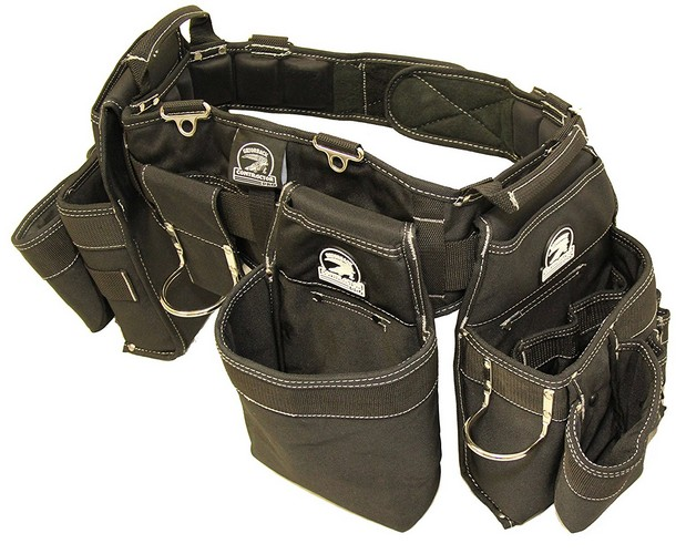 1. Gatorback B145 Carpenters Triple Combo w/Pro-Comfort Back Support Belt. For Best Fit Measure ACTUAL WAIST SIZE OVER CLOTHES. (Large 36