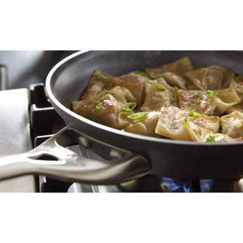 Best Non Stick Pans For Gas Stove 1. Calphalon Contemporary Hard-Anodized Aluminum Nonstick Cookware